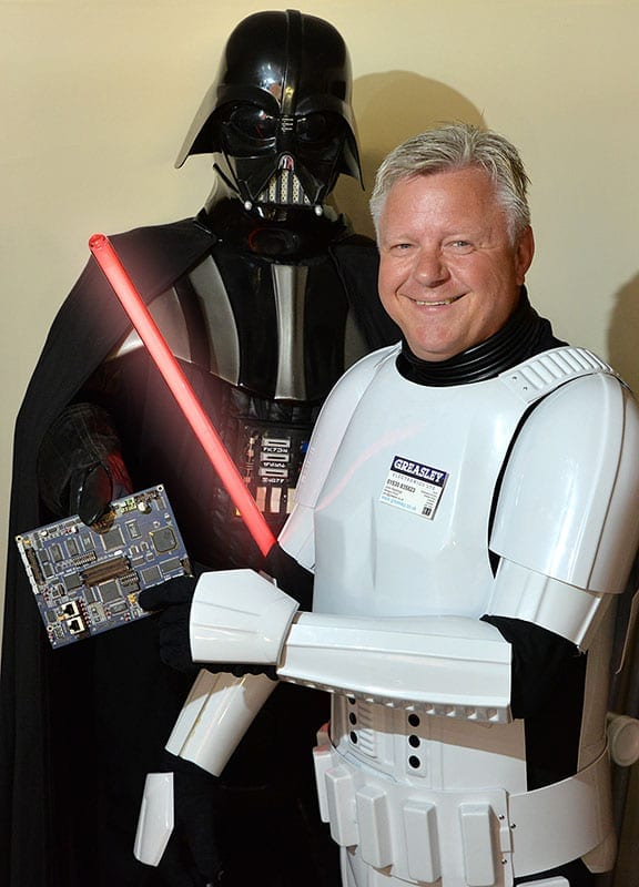 John Rawlings, Greasley Electronic & Industrial Repairs, UK - Stormtrooper