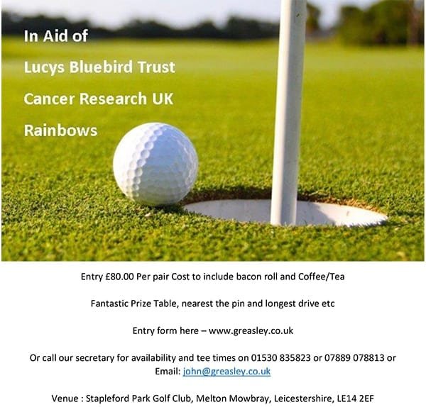 Greasley Electronic & Industrial Repairs, UK - Golf Day
