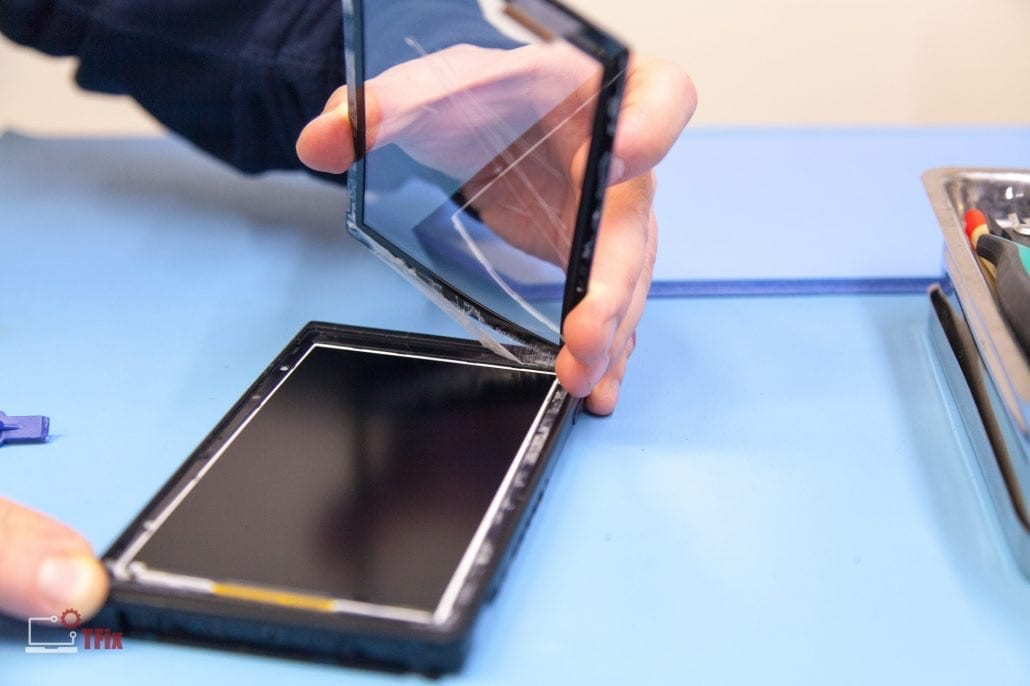 Industrial touch screen, Electronics breakdown, Greasley Electronic & Industrial Repairs, UK