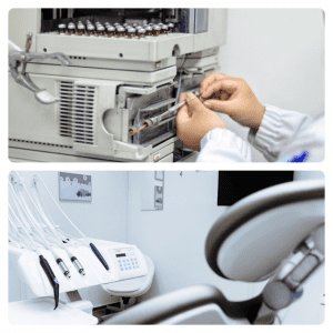 Chromatography and Dental Equipment Repair