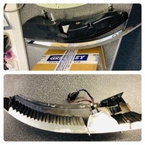 Aston Martin rear headlight electronics repair - Headlight repair - LED Repair
