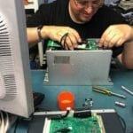 Industrial Electronic Repair, Invertor Drive Repair, rotated invertor drive, repair service