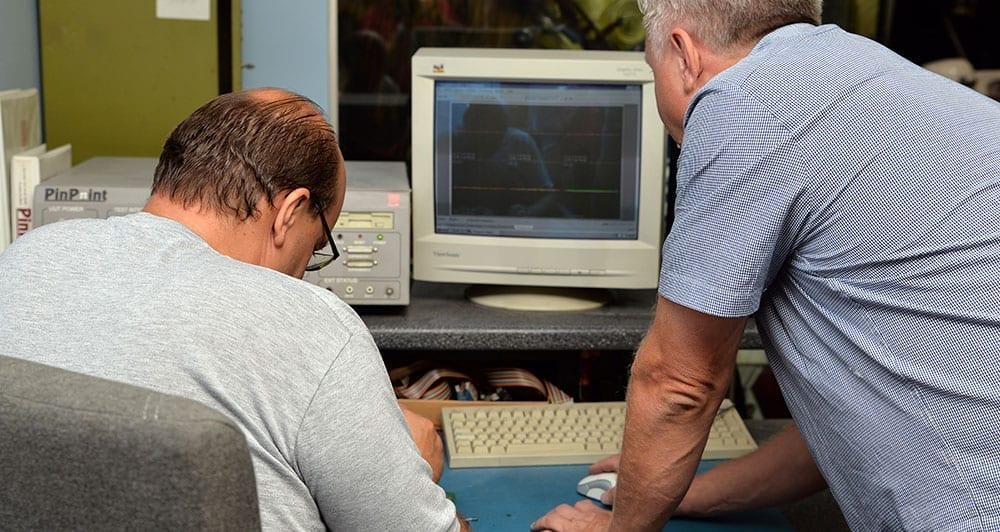 Pinpoint machine, electronic repair, pcb repair