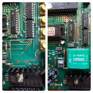 Battery leakage example